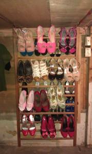 I heart my shoes (and my shoe racks!)