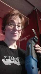 A punk with a great tool (though seriously, this tool and I are bffs)