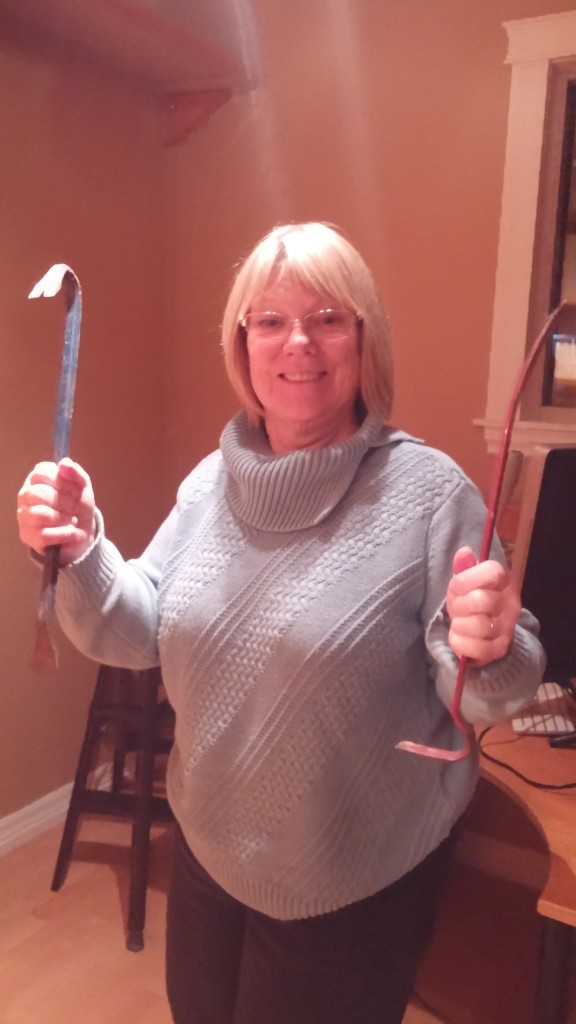 Mumma getting ready to Demo